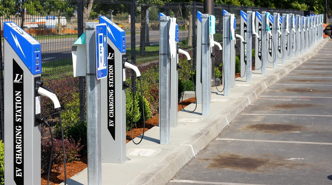 EV charging stations IoT enabled
